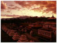 Закат над Пашупатинатхом